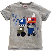 Hot sale Boys O-NECK T-Shirt Children Clothing Tops Short Sleeve 100% Cotton Tees Fahsion Summer Kids T Shirt 2T-6T