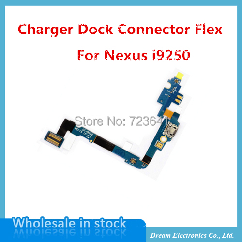 5pcs/lot Charger port USB Flex charging port dock connector Flex Cable for Samsung Galaxy Nexus i9250 free shipping(China (Mainland))