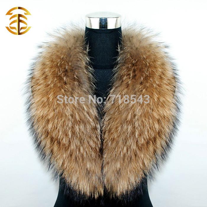 Natural Fur Collar Scarf Women's Real Raccoon Fur Women Scarfs Autumn Neck Warmer Apparel Accessories Fur Scarves Woman(China (Mainland))