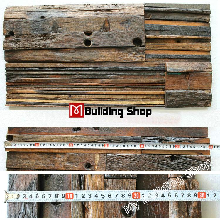 Ancient boat wood pattern tile backsplash NWMT163 3d wood mosaic tiles natural wood mosaic kitchen wall tile(China (Mainland))