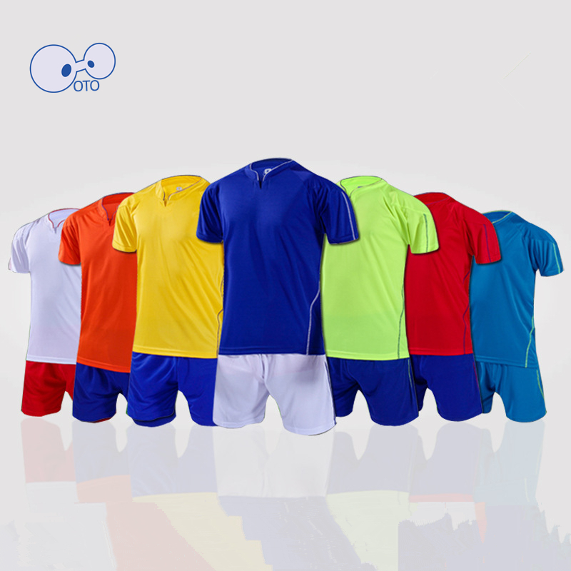 Wholesale Men Breathable Quick Drying Top Thai Soccer Set 2016 Soccer Uniforms Cheap EURO Football Kit Sports Jerseys Tracksuit(China (Mainland))