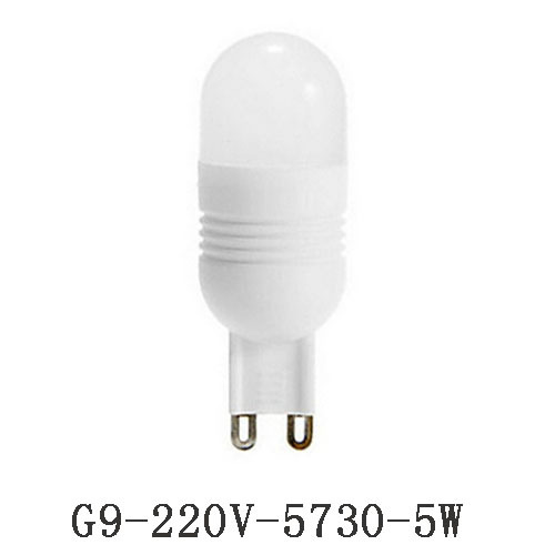 1pcs/lot high bright G9 LED lamp 3W 5W G9 bulb AC220V led Ceramic Bulb G9 high quality free shipping<br><br>Aliexpress