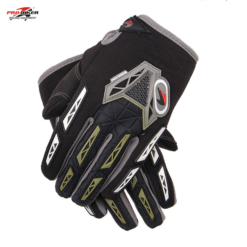 New PRO-BIKER motorcycle gloves motos motorbike gloves guantes motorcycle moto gloves BLACK CE-03(China (Mainland))