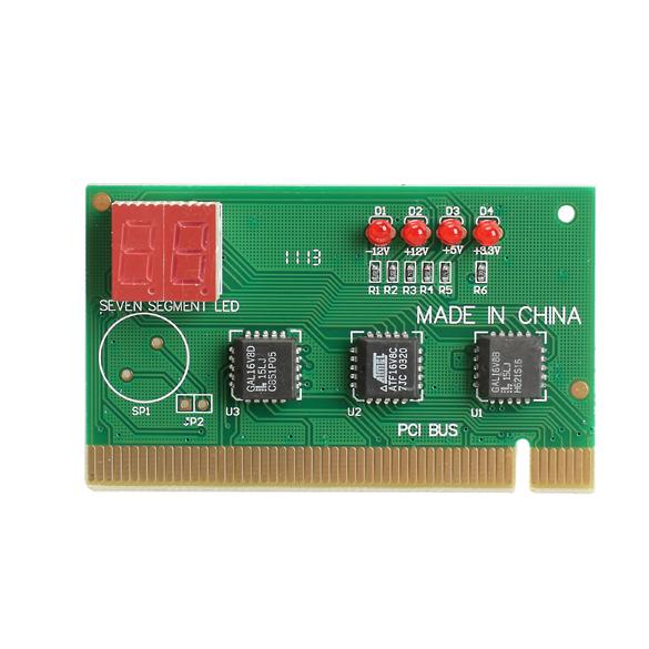 2Digit PC PCI Diagnostic Card Motherboard Analyzer Tester Post for Desktop ES88(China (Mainland))