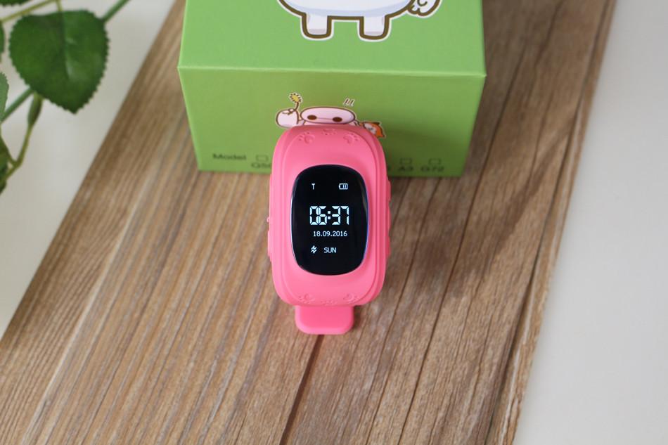 image for Q50 GPS Kid Smart Watch Anti Lost GPS Tracker Original Q50 Baby Smartw
