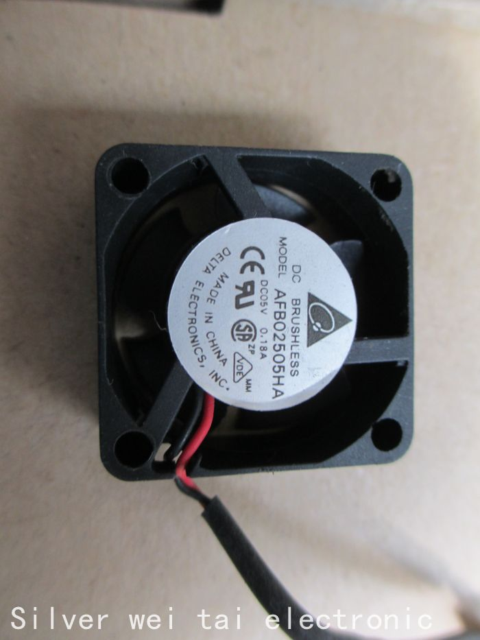 NEW FOR Delta AFB02505HA 5v 0.18a Cooling fan 2510 25x25x10 2.5cm small fan(China (Mainland))