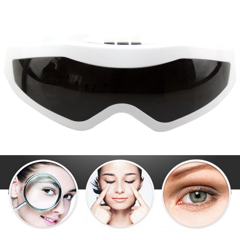massager goggle Eye Care Health Natural therapy Electric Vibration Release Alleviate Fatigue Eye Massager 2017 New