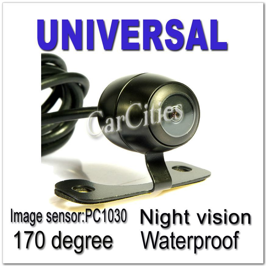 Universal Car Wired/Wireless car parking camera 170 degree,Waterproof &Night version dorp shipping parking camera