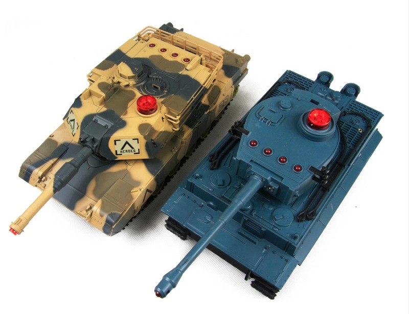 2015 NEW HuanQi Infrared Remote Control Track Battle rc Tank 27MHz Sound Of Cannon And Emmagee remote control tank With Light(China (Mainland))