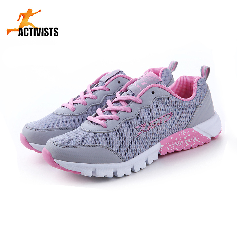 New Fashion Brand Women Sneakers Casual Sport Shoes Running Shoes For Women Thick Mesh Breathable Tennis Athletics Shoes 35-40(China (Mainland))