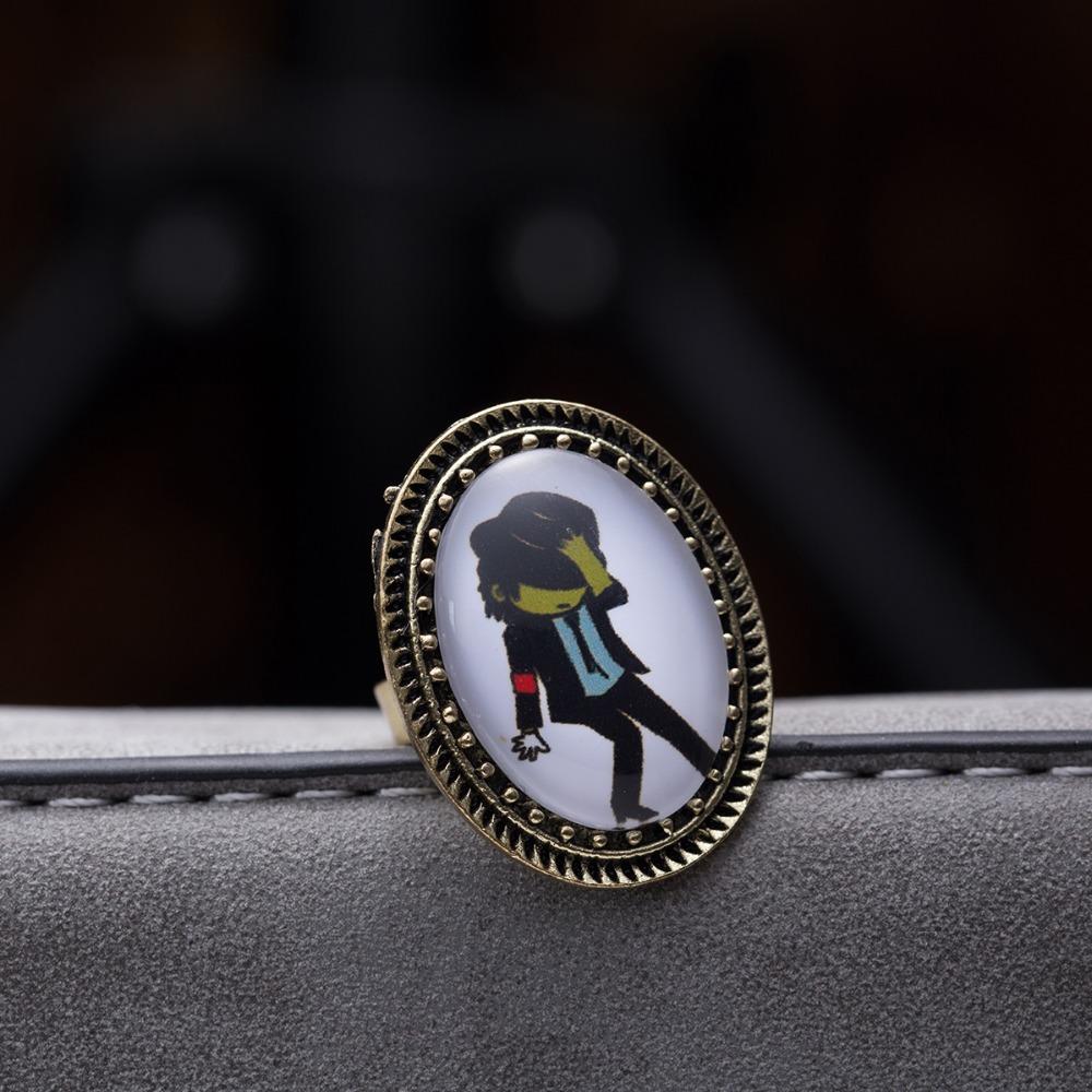 Hot Sale Jewel Brand Fashion Accessories Ancient Retro Vintage Michael Jackson Rings For Women nj182(China (Mainland))