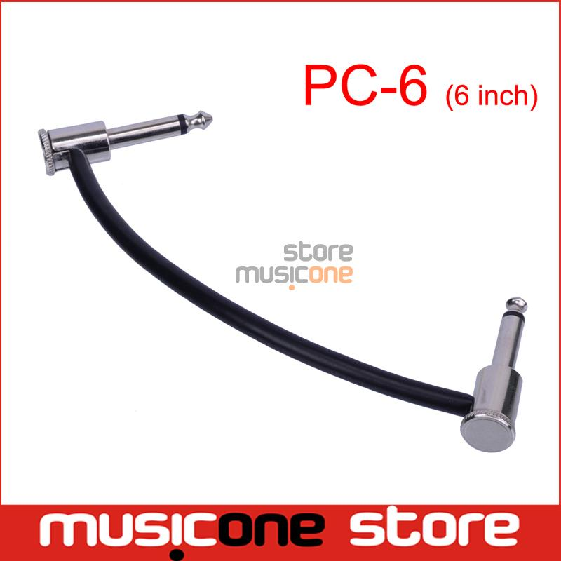 """MOOER """"Wrap"""" Series PC-6 6 Inch Patch Cable for Micro Series Pedals(China (Mainland))"""