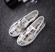 Fashion JK style preppy chic Harajuku symphony canvas shoes sneakers female pedal lolita shoes lazy girl