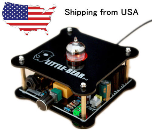 12AU7 Hybird Hifi Stereo AMP Pure Class A Headphone Amplifier & Pre-Amplifier_US(China (Mainland))