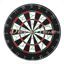 2015 New Fashion Thick Double Side 18-Inch Viper Shot King Bristle Flocked Dartboard With 6 Free Darts Professional Set 25(China (Mainland))