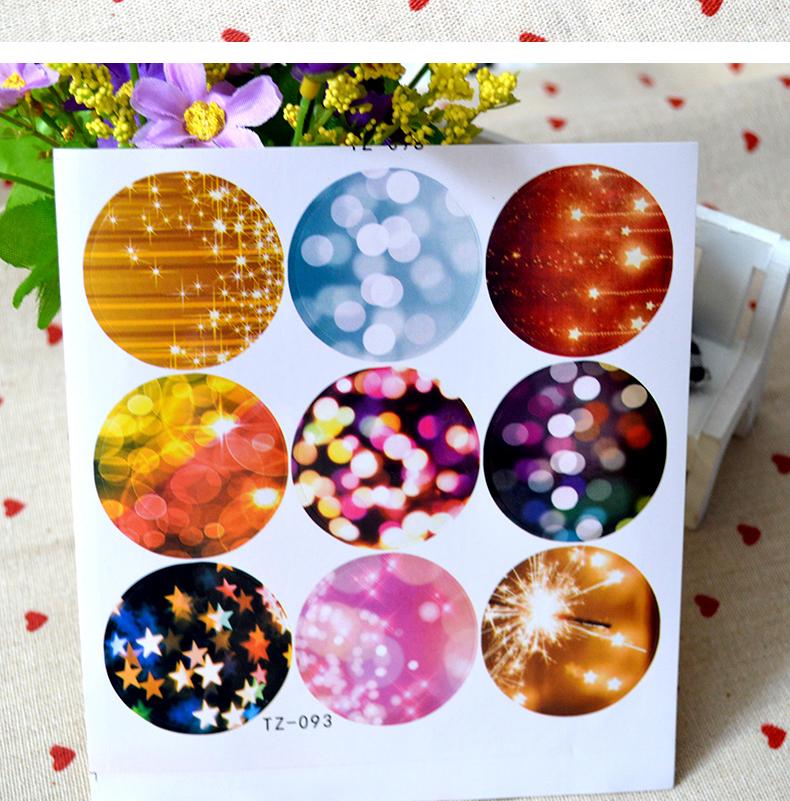 colored sticker paper