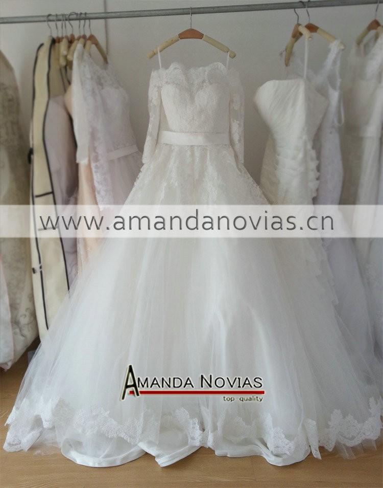 Свадебное платье Amanda novias vestido noiva Novias NS1021