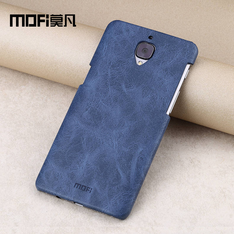 Oneplus 3 case MOFi cover One Plus A3000 back leather capa OnePlus 3t phone cases 3T t TPU 64gb  -  Mofi Manufacturer Store store