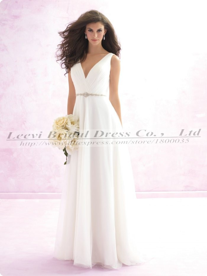 Vestidos para bodas chiffon beach cheap wedding dresses for Cheap wedding dress from china