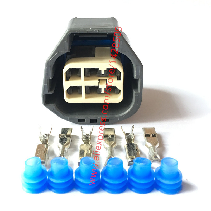 compare prices on 6 pin wiring harness online shopping buy low 10 sets 7283 5577 10 yazaki waterproof automotive throttle pump socket electrical 6 pin