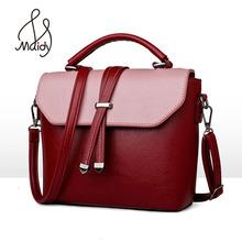 Buy Classic Tote Handbag Women Shoulder Bag Vintage Messenge Pu Leather Bags Designer Brand Female Large Big Casual Panelled Purse for $20.16 in AliExpress store