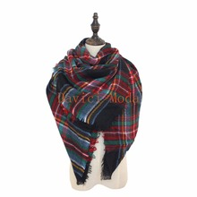 Buy za Winter 2016 Tartan Scarf Desigual Plaid Scarf New Designer Unisex Acrylic Basic Shawls Women's Scarves hot sale za scarf for $6.65 in AliExpress store