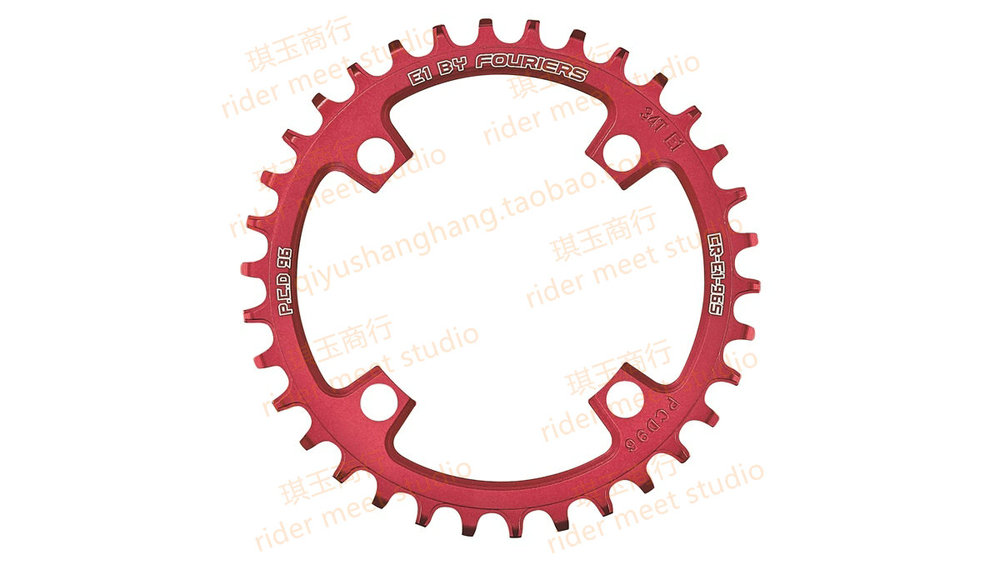 FOURIERS 96 BCD 32T 34T 36T 38TA7075-T651 Alloy Bike Chainring Chainwheel MTB Road Cycle Crankset Parts beyond GEAR KING<br><br>Aliexpress