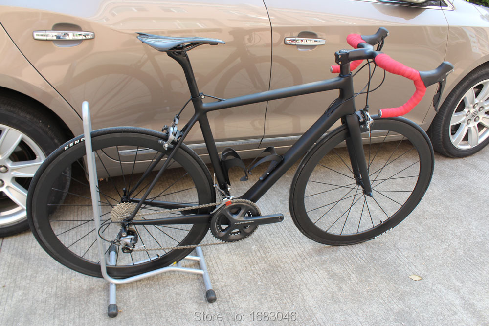 High quality carbon road frame matt &gross finish without logo carbon frame for sale(China (Mainland))