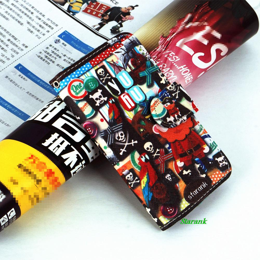 Flip Case Wallet,Card Slot and Money Slot Hard Cover Flip Case For Samsung Galaxy Xcover 2 S7710 Of small animals(China (Mainland))