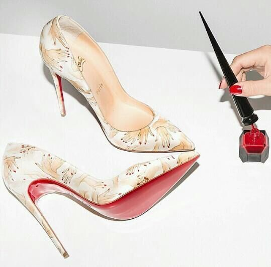 Designer heels for wedding