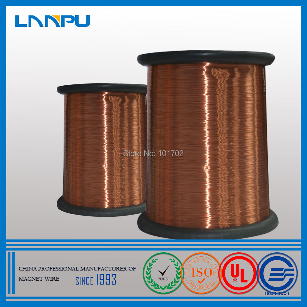 UL Approved Magnetic Wire Polyurethane Enameled Copper Winding Wire for Motor Winding(China (Mainland))