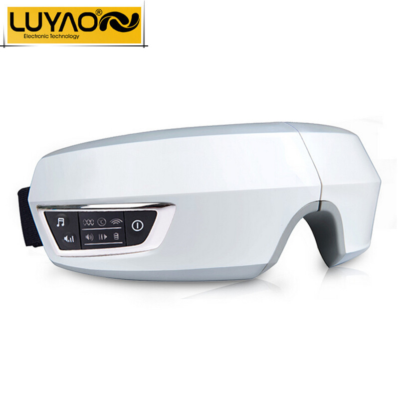 Electric Air pressure Eye massager with mp3 functions.Wireless vibration eye magnetic far-infrared heating.Usb eye care glasses(China (Mainland))