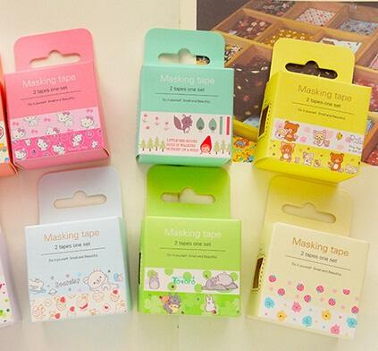 NEW Fresh Vintage Cartoon Life masking tapes Japanese washi tape DIY scrapbooking sticker Stationery School supplies<br><br>Aliexpress