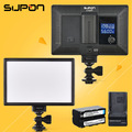 SUPON L122T LED 3300K 5600K Ultra thin LCD Bi Color Dimmable Studio Video Lamp Panel fr