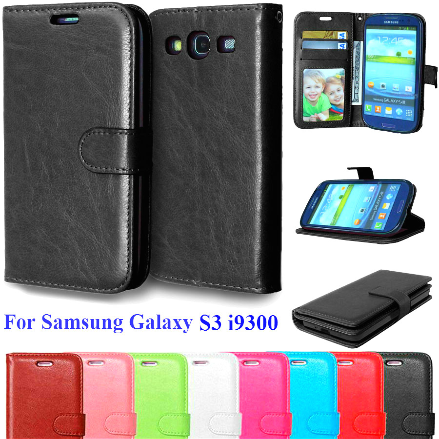 Case For Samsung Galaxy S3 Cell font b Phone b font font b Wallet b font