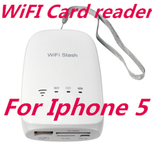 WIFI Stash Micro SDHC/TF Flash Memory USB Camera Connection Kit WIRELESS Card Reader Adapter formini ipad 2 3 4iphone 5 4s S3(China (Mainland))