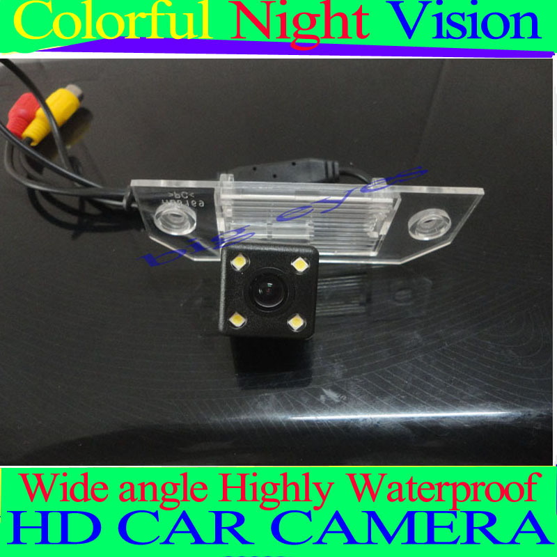 "Free shipping CCD 1/3"" Car Rear view Parking Back Up Reversing Camera For Ford Focus Sedan (2) (3)/08/10 Focus Night vision(China (Mainland))"