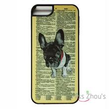 For iphone 4/4s 5/5s 5c SE 6/6s plus ipod touch 4/5/6 back skins mobile cellphone cases cover French Bulldog