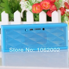 BIG DISCOUNT 2014 New Hot Selling Jambox Style Wireless Speaker Mini Bluetooth Portable Speaker With Retail Box Free Shipping(China (Mainland))