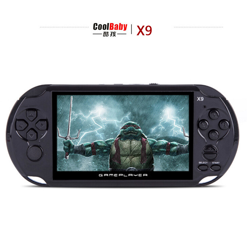 """8GB 5.0"""" Large Screen Handheld Game Consoles Built-in 300 Classic NES Games With MP3/ Movie Camera Adult Vedio Games Console(China (Mainland))"""