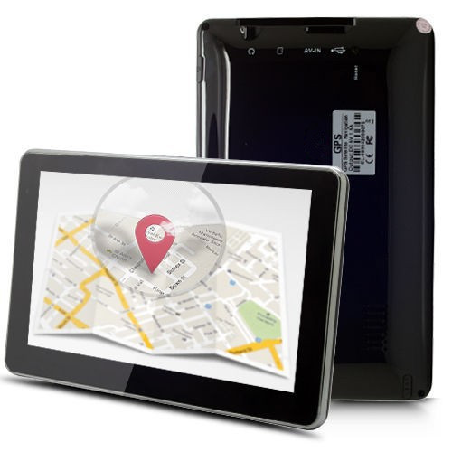 "Hot-sell 7"" touch screen Car GPS Navigation SAT NAV CPU800M 256/8GB +Bluetooth AV-IN +FM+Free latest Maps(China (Mainland))"