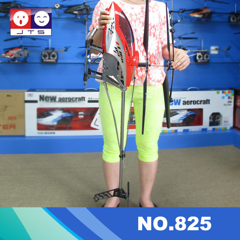 2015 new super big size rc helicopter 105cm 825 3 ch metal frame rtf with gyro