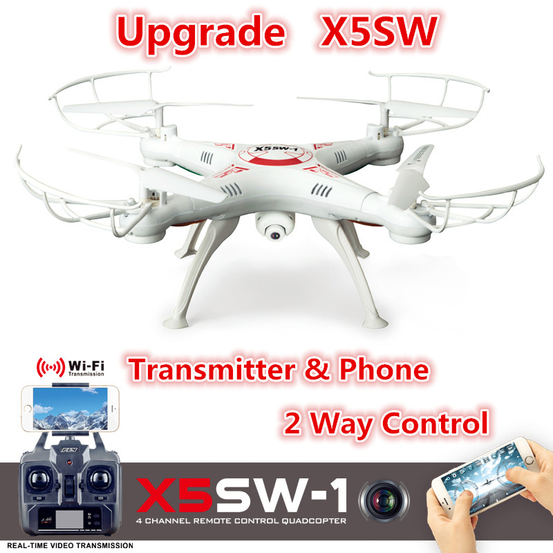 X5SW X5SW-1 FPV RC Quadcopter Drone Profissional Dron with WIFI Camera HD Helicopter 2.4G 6-Axis VS X5C X6SW X8W X8HW JXD 509g(China (Mainland))