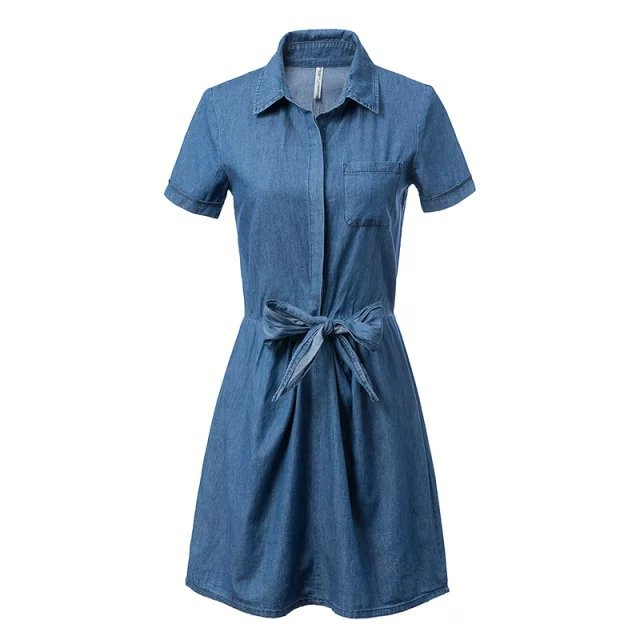 Luxury Women Blue Jean Dresses  EBay