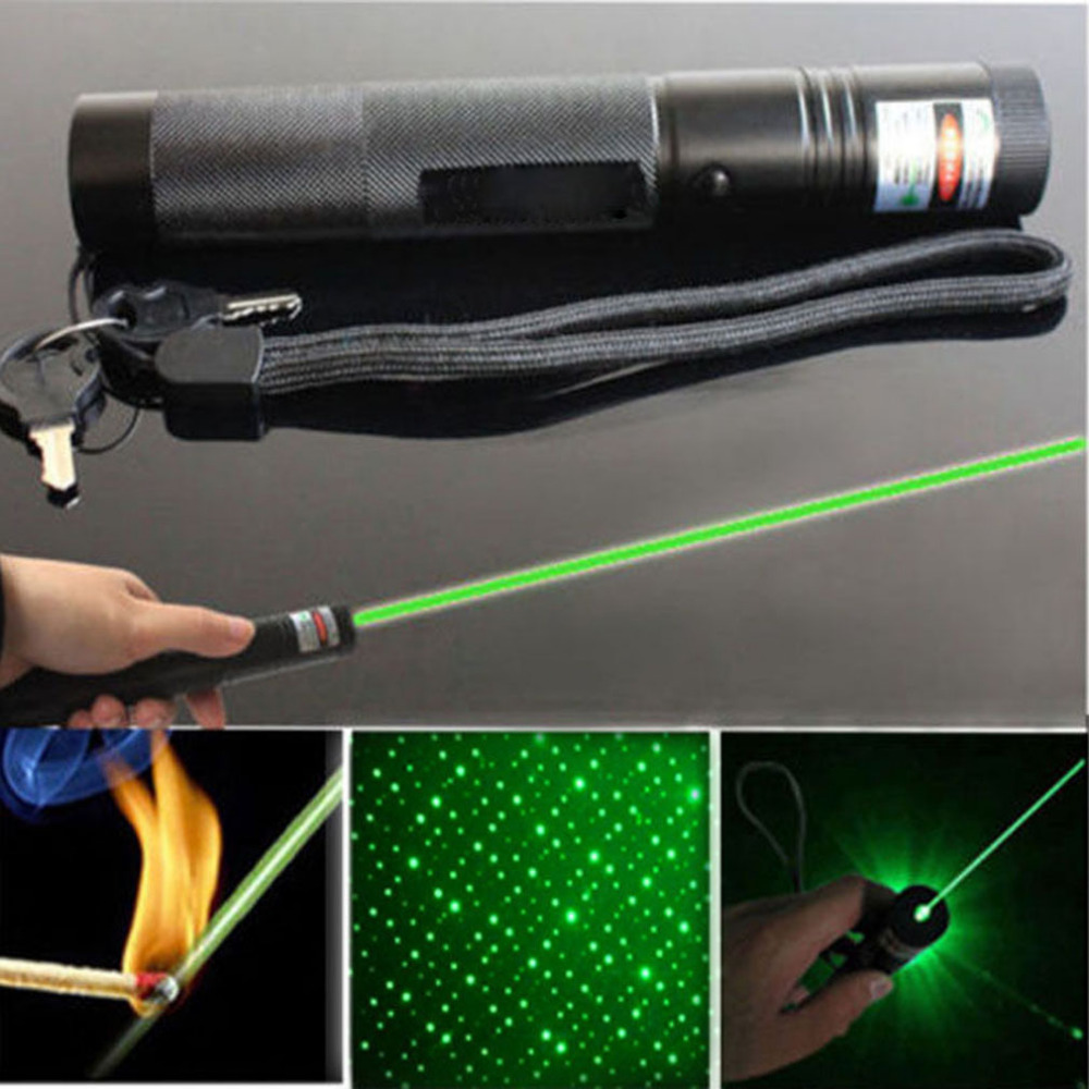 New High Power Burning Green Laser Pointer Visible Beam Light 303 Powerful Green Pointer Pop Ballon Astronomy Pointers Pens(China (Mainland))