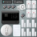 New Product WiFi Alarm System Home Security Alarm System IOS ANDROID APP Control RFID Keypad PIT