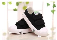 2016 New Children Canvas Shoes For Kids Baby Boys Canvas Shoes Girls Flat High Sneakers Low Casual School Student Sports Shoes(China (Mainland))