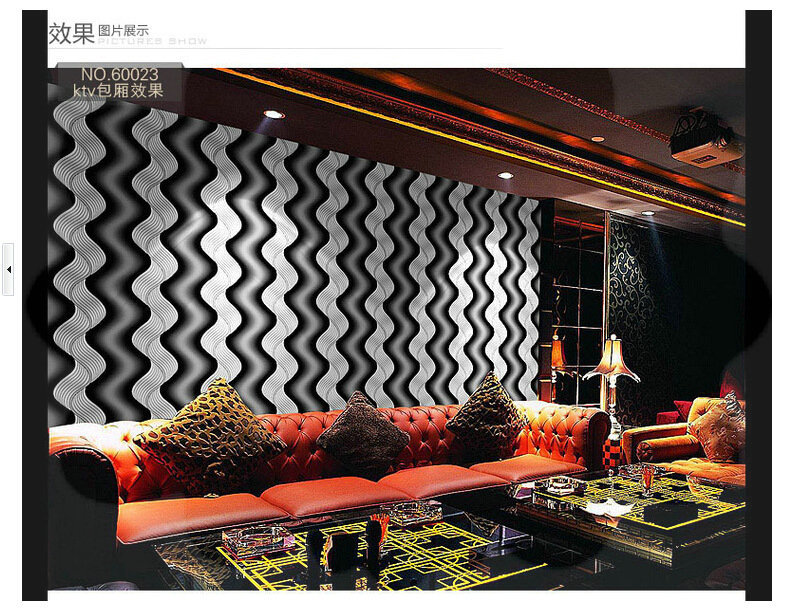 mop water Modern abstract colorful bar KTV rooms dedicated clubs PVC wallpaper modern project 3D wallpapers roll wall paper torn(China (Mainland))