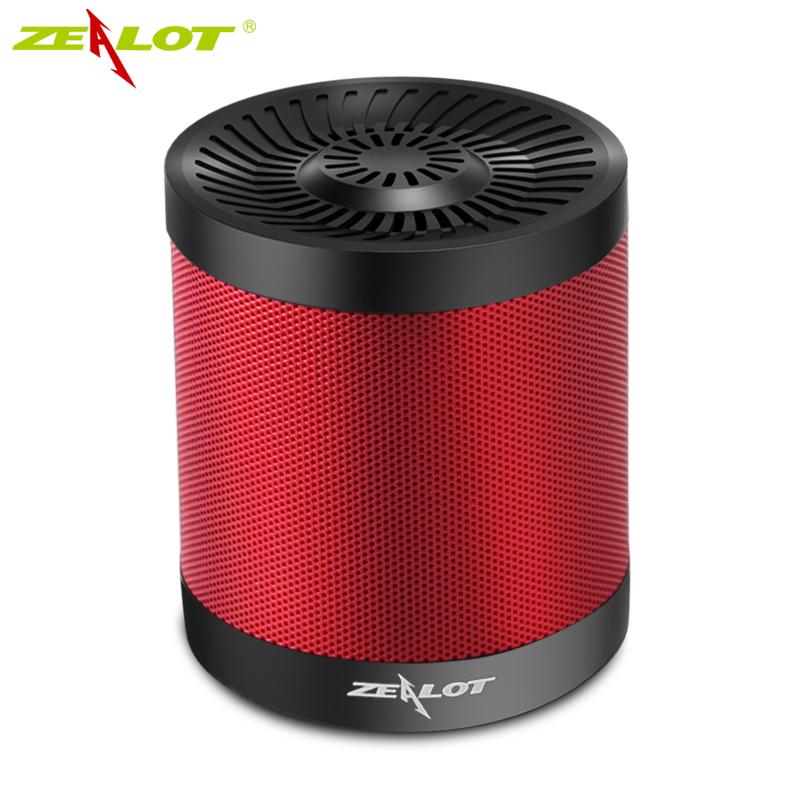Original Zealot S5 Mini Altavoz Bluetooth Speaker Portable Speaker Powerful Enceinte Bluetooth Speakers AUX USB TF Card Slot(China (Mainland))