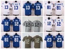 100% Stitiched,Indianapolis Colts,Andrew Luck,T.Y. Hilton,Andre Johnson,Pat McAfee,Coby Fleener,Frank Gore()